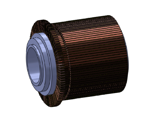 V Ring commutator